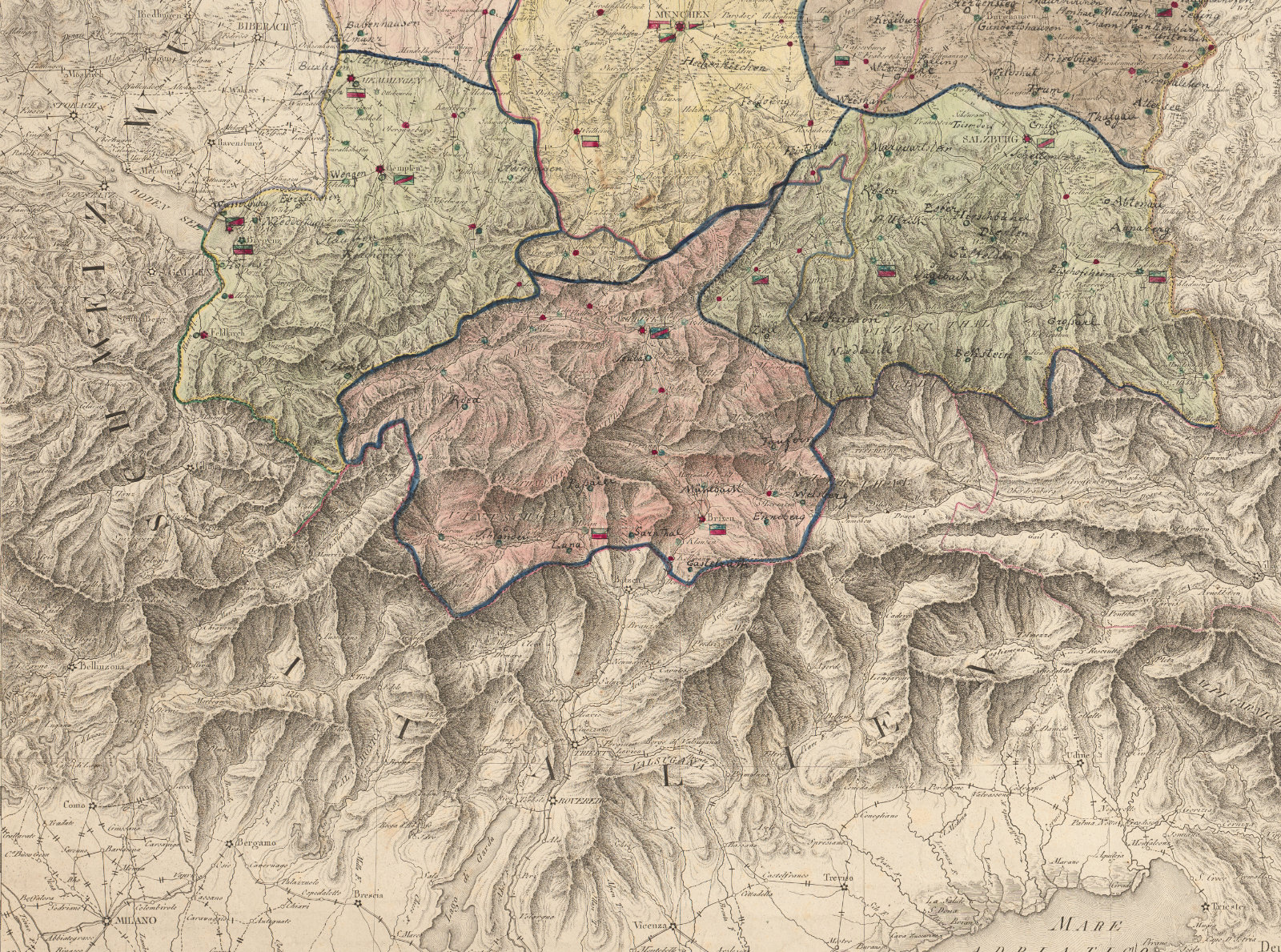 Picture of: The Reorganization Of Europe North And South Of The Alps Bavarian Studies In History And Culture